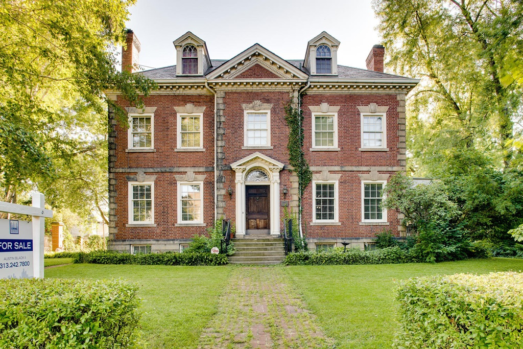 interesting detroit mansions for sale cheap detroit