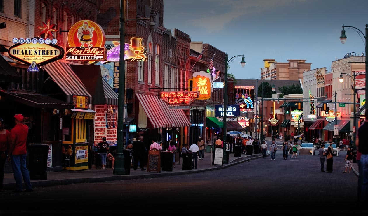 Memphis, TN has it all. City center blues, suburban living at its best, not to mention barbeque, rock-n-roll, and of course, the legend of Elvis.