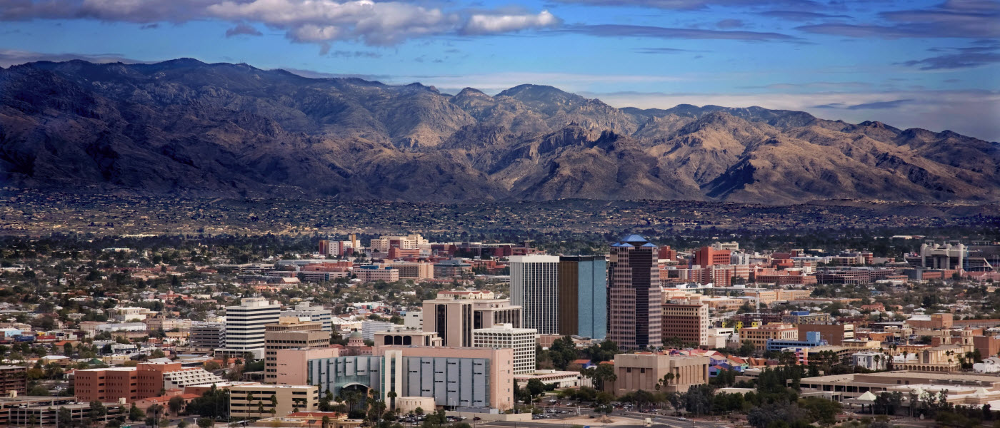 Looking for a job near Tucson?  Try these 5 cities.