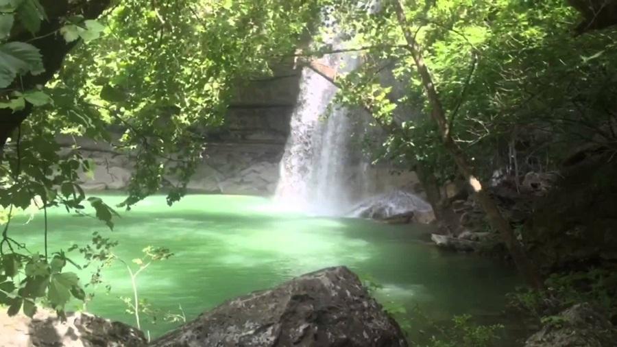 Natural Falls Staye Park Oklahoma